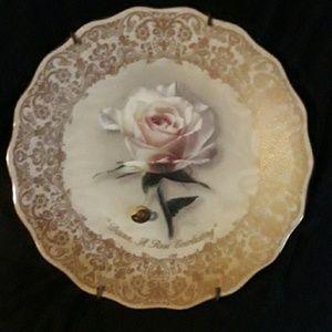 COPY - 1994 Princess Diana Musical decor plate!